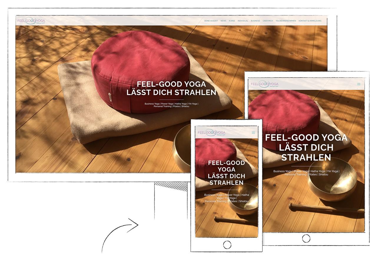 Website Design Hamburg Nachhaltig Yoga Michael Ullrich